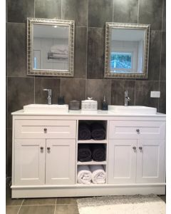 TORINO 1500MM HIGH QUALITY MODERN BATHROOM VANITY UNIT WITH AND WASTE NEW