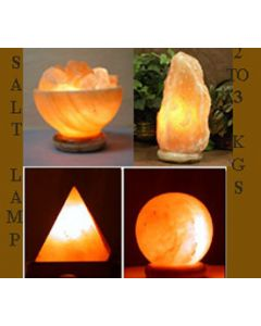Himalayan Salt Lamp Rock Crystal Assorted Unique Ionizer