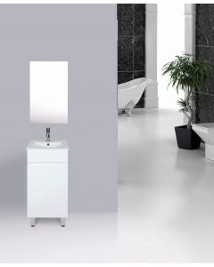 VANITY BATHROOM 400MM UNIT WITH FREE FAUCET AND MIRROR