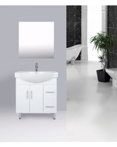 VANITY BATHROOM 750MM UNIT WITH FREE FAUCET AND MIRROR